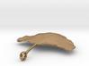 Ginkgo Leaf Necklace 3d printed