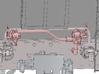 Luftabsperrhähne Set für die 99222 3d printed