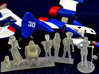 1/64 Racing Team Staff for Diorama 3d printed