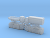 French Panhard K125 Heavy Truck 1/285 3d printed
