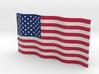 American Flag (Color) 3d printed