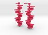 Taliesin Lamp Earrings 3d printed