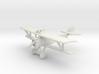 Nieuport 17 (Lewis) 3d printed 1:144 Nieuport 17