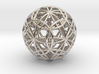 IcosaDodecasphere with Icosahedron & Dodecahedron 3d printed
