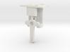 HO LQ Signal Mech - One Arm Post - Brass 3d printed