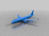 Embraer E190 3d printed The rendered model.