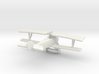 Nieuport 17bis (RNAS) 3d printed 1:144 Nieuport 17bis