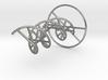 DNA Molecule Metal. 4 Size options. 3d printed