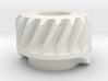 Worm Gear, KM32 (Braun), Part No 4207478 3d printed Rendering