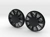 "FN0015 48"" Dynamic Brake Hub Fan 1/87.1 3d printed"