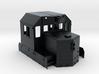 "CP SD40-2 81"" Nose As-Built Cab 1/87.1 3d printed"