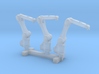 N Scale 3x Robotic Arm 3d printed