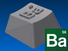 "Breaking Bad - ""Ba"" Keycap (R1, 1x1) 3d printed"