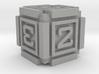 Cubic D6 - 16mm die 3d printed