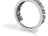 Text_ring_NeverSayNever Ring Size 7 3d printed