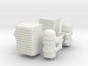 1/14th Farr Air Cleaner w Lubrifiner pair 3d printed
