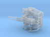 Twin Bofors 1/120 3d printed