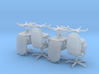 8 Conference Room Chairs HiRez (Star Trek Voyager) 3d printed
