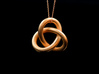 Robust Large Trefoil Knot Pendant 3d printed