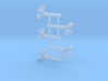 """HO Scale SP TO Square 42"""" 3d printed"""