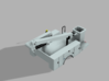 Dually Bed With Man Bucket 1-87 HO Scale 3d printed