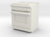 1:48 Kitchen Stove(Range) and Oven 3d printed