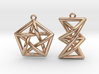 Forbidden Subgraph Earrings 3d printed