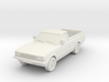 1-76 Ford Cortina Mk5 P100 Hollow Wheels Attached  3d printed