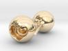 Heart Core Ball Earings 3d printed