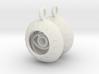 2x Vesica Eye Sacred Geometry Pendant 3d printed