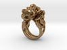 Greedy Money Toad Ring: JinChan 3d printed