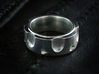 Peacemaker Ring - Size 9 1/2 (19.35 mm) 3d printed Shown in Polished Silver