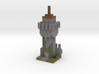 Minecraft Godes Tower 3d printed