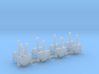 Omni Scale Seltorian Avenger Gunboat Flotilla MGL 3d printed