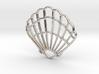 Seashell Pendant Charm 3d printed