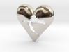 Croatia in Heart Pendant 3d printed Croatia in Heart