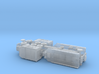French Laffly S 35 T w. 20t Tank Trailer 1/144 3d printed