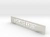 "Lancia Delta 1 ""Martini Racing"" window Shield 2 3d printed"