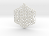 38x2mm Flower of Life Lotus 3d printed
