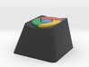 Google Chrome Cherry MX Keycap 3d printed
