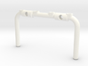 Tbb006-02 Tyco Bandit Roll Cage Upright Aux Lamps 3d printed