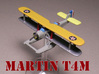 """Martin T4M (two airplanes set) 1/285 6mm 3d printed Martin T4M """"Torpedo Truck"""" (floats) painted by Fred O."""