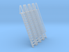 N Scale Ladder 14 (4pc) 3d printed