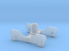 FR-style bogie without coupling 3d printed