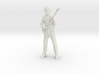 Guitar player with glasses 3d printed