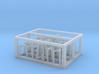 HO/1:87 Rotating beacon lights frame kit 3d printed