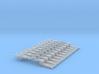 NEM OO Type 12 Couplings - Adaptor 3 Link x10 3d printed