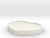 Heart Pad - 8CM Wide 3d printed