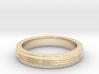Three Strand Ring 3d printed