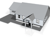 Ranch Style House 3d printed Ranch style House